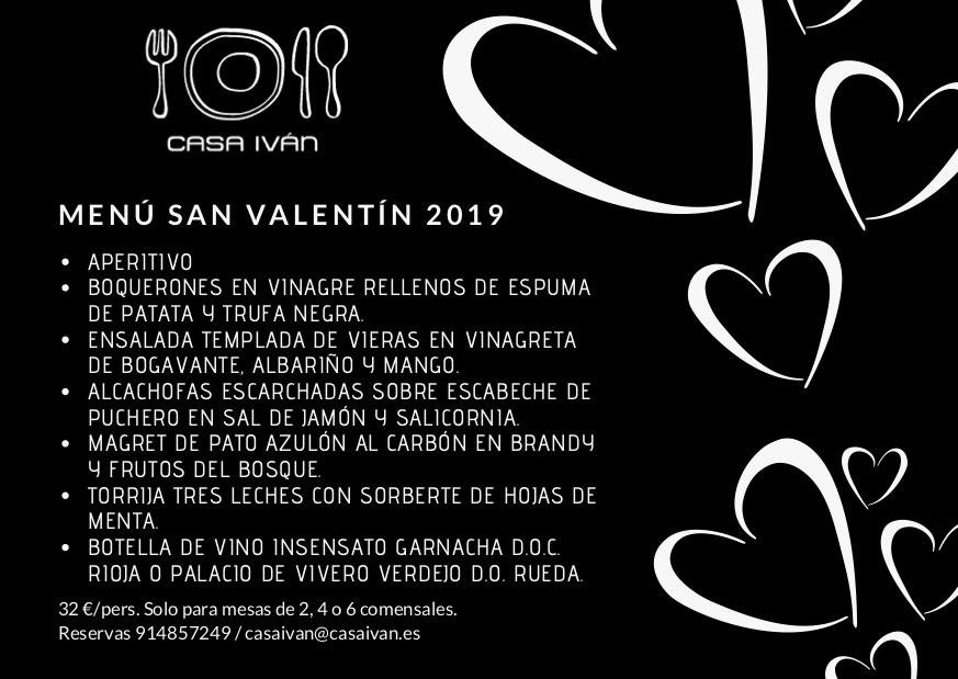 Casa Iván San Valentín 2019